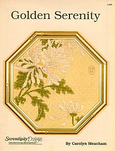 Golden Serenity Stitchery Kit