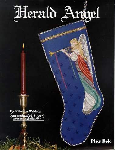 Herald Angel Stocking Leaflet