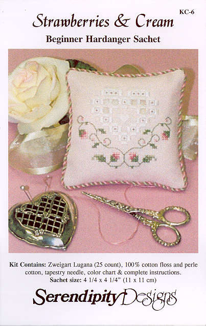 Strawberries and Cream Hardanger Teaching Kit