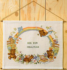 Teddy Bear Birth Announcement Chart Pack
